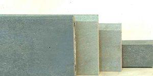 Sockelleisten als Anfahrschutz und Anprallschutz.
